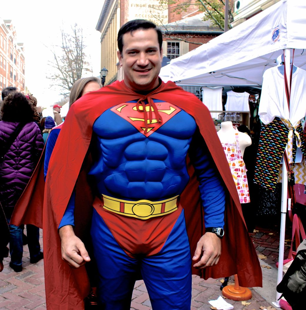 salem halloween 2013 man in superman costume
