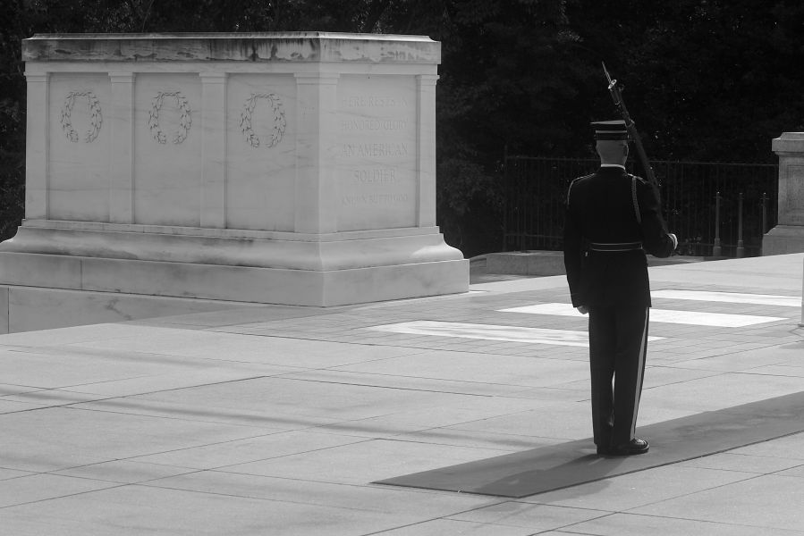 washington dc arlington national cemetery changing of the guard 1