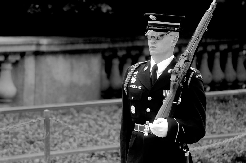 washington dc arlington national cemetery changing of the guard 2