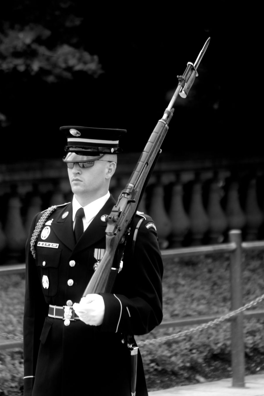 washington dc arlington national cemetery changing of the guard 3