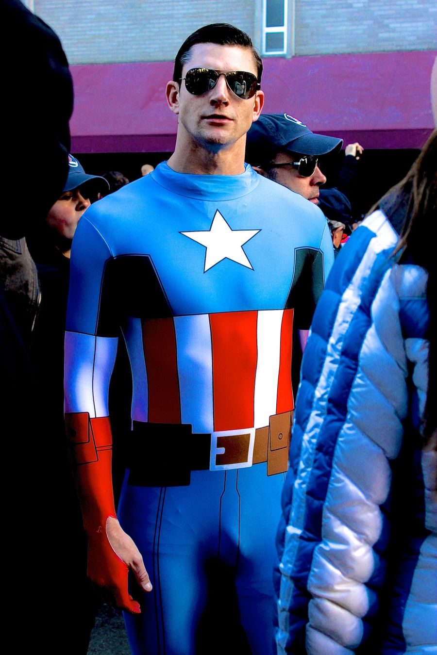 boston red sox world series celebration 2013 captain America 2