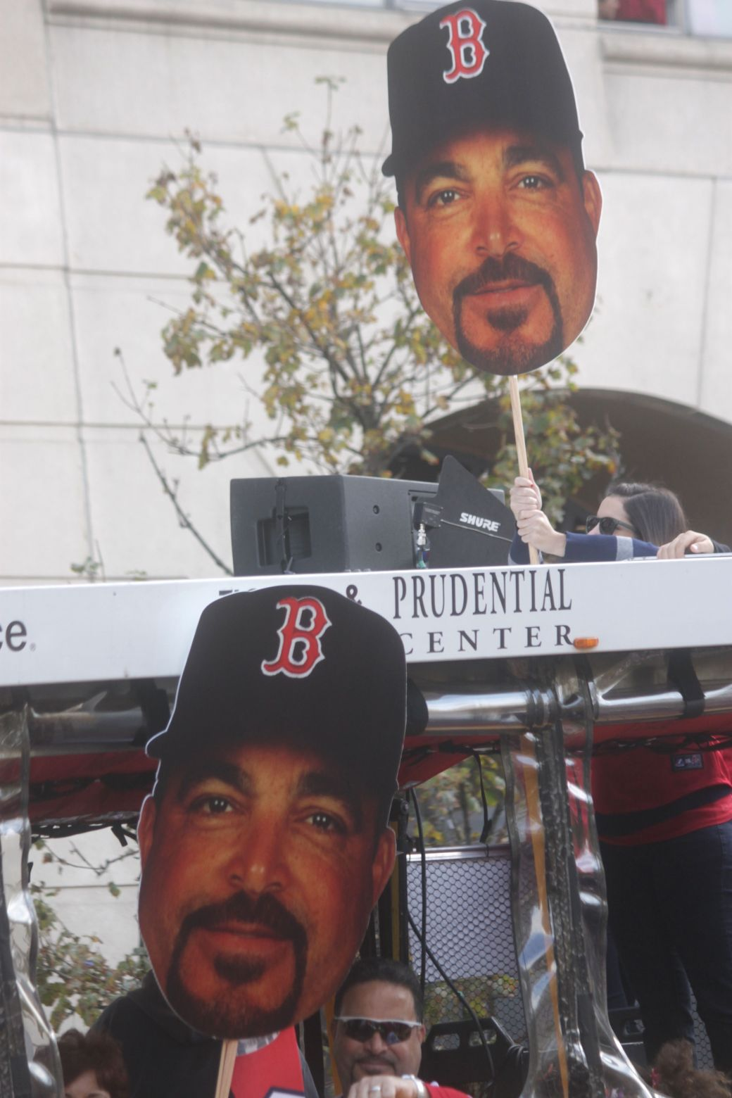 boston red sox world series celebration 2013 face signs