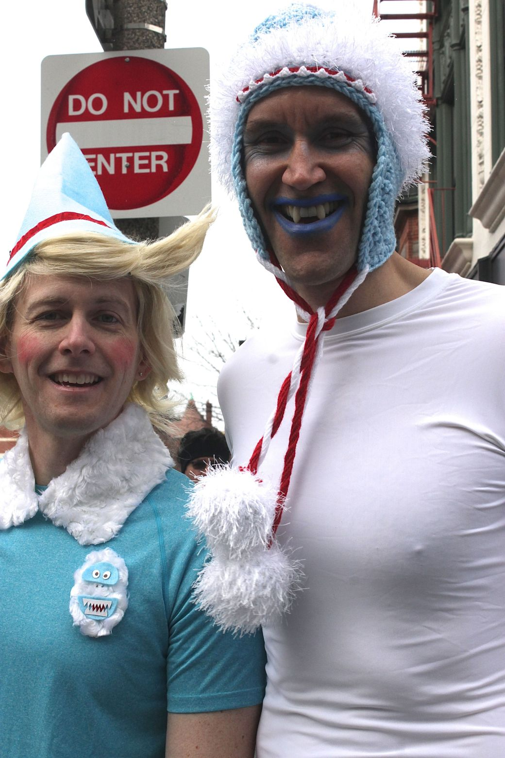 boston santa speedo run december 14 1
