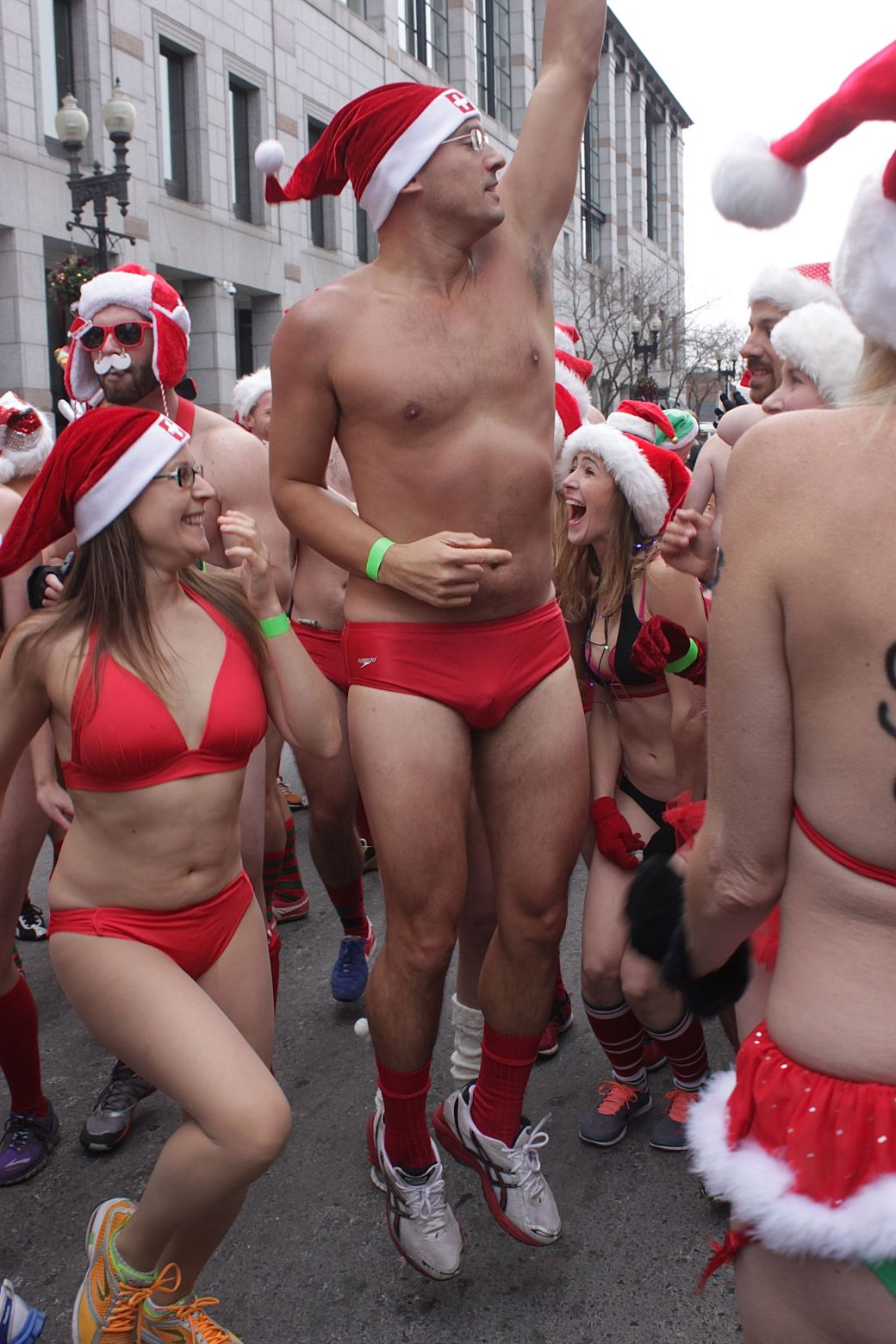 boston santa speedo run december 14 12