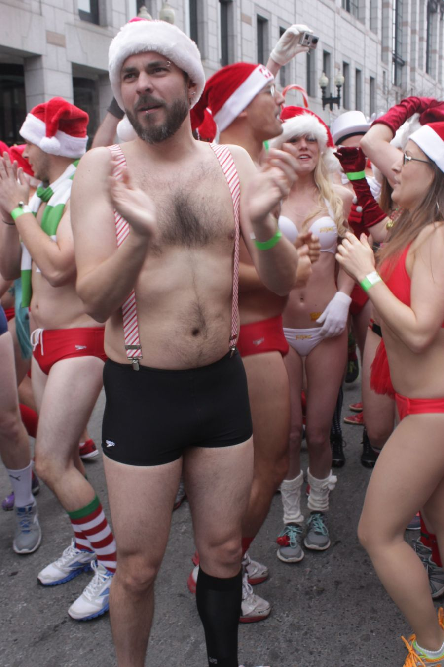 boston santa speedo run december 14 15