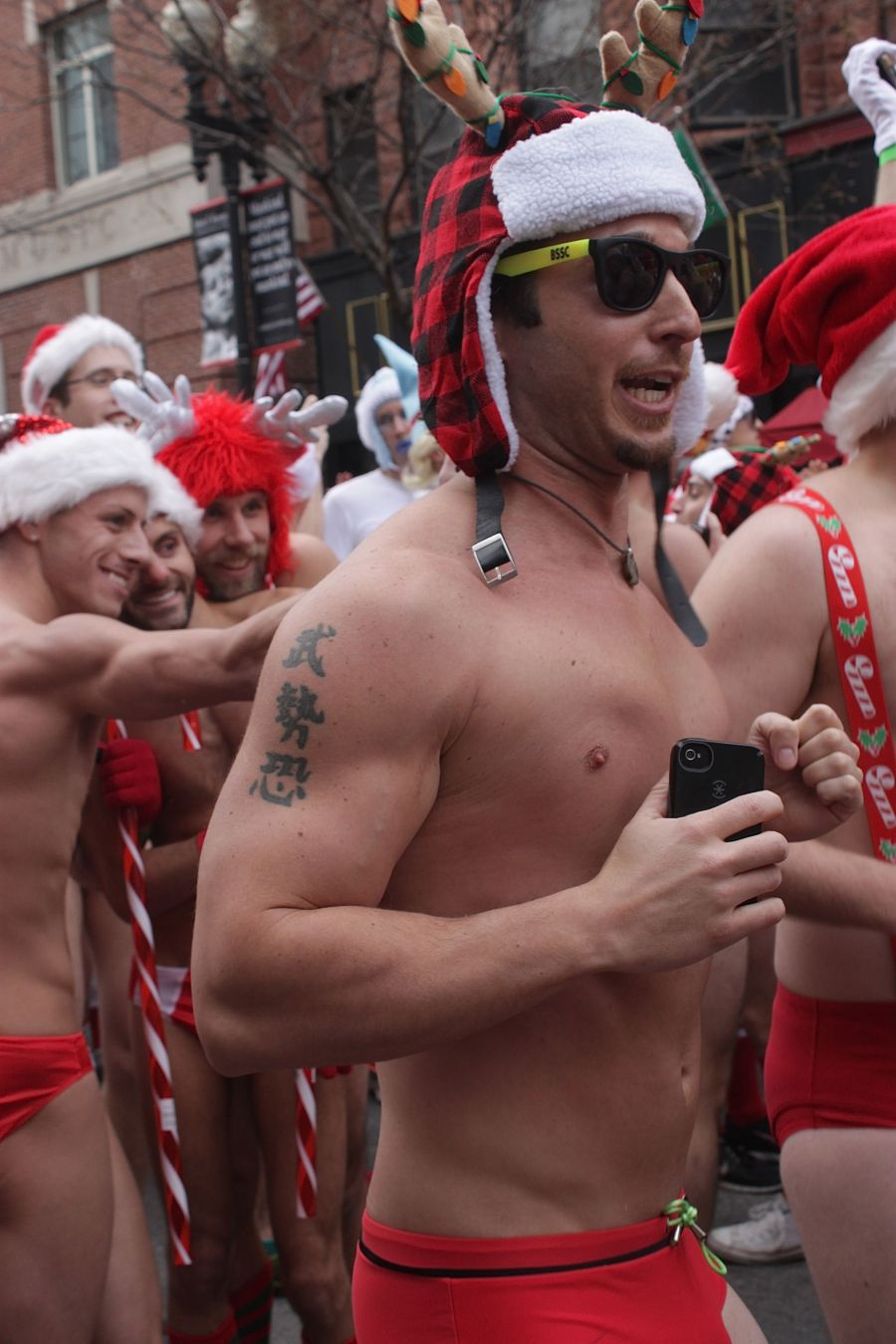 boston santa speedo run december 14 16
