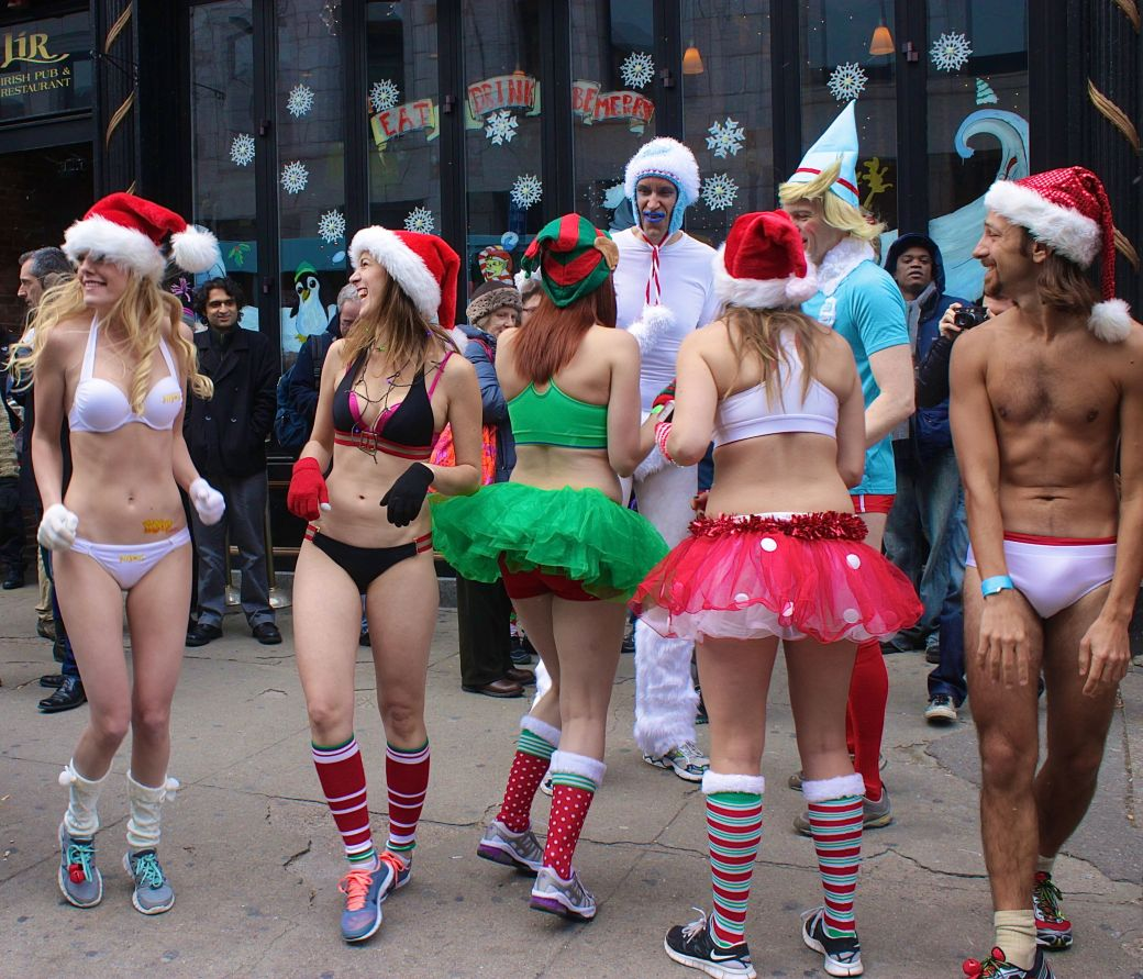 boston santa speedo run december 14 2