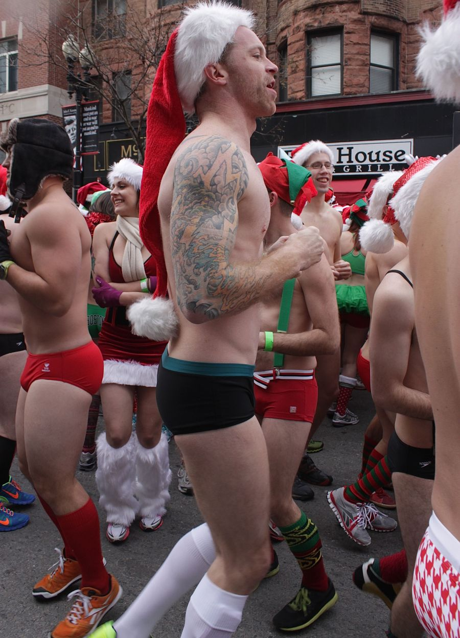 boston santa speedo run december 14 20