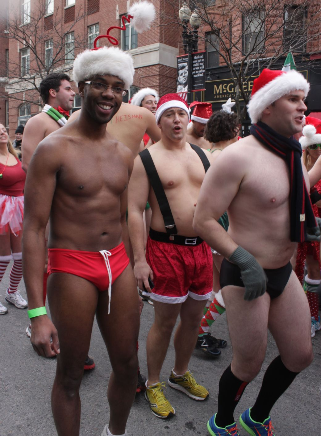 boston santa speedo run december 14 21