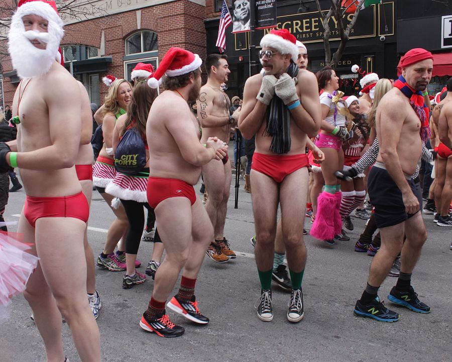 boston santa speedo run december 14 23