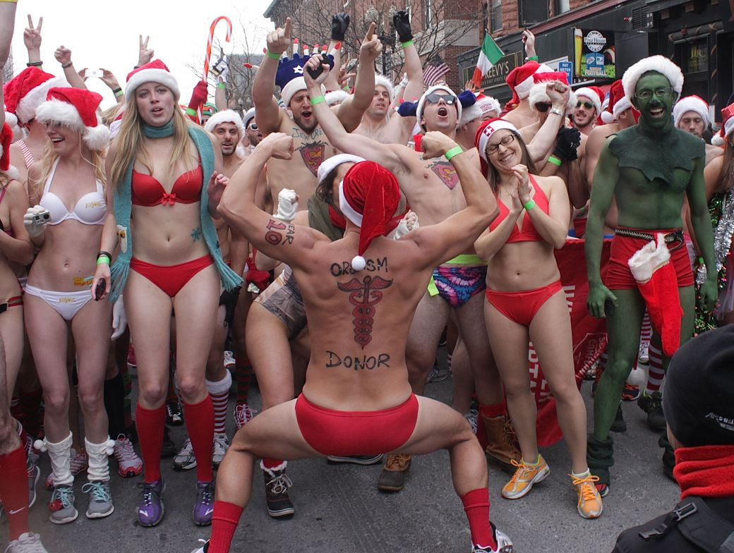 boston santa speedo run december 14 24