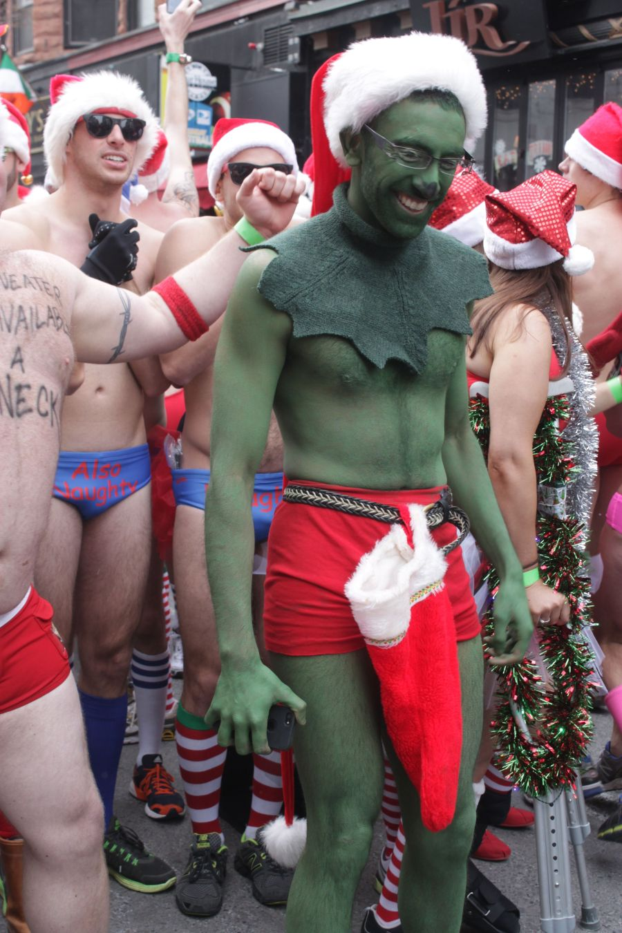 boston santa speedo run december 14 27