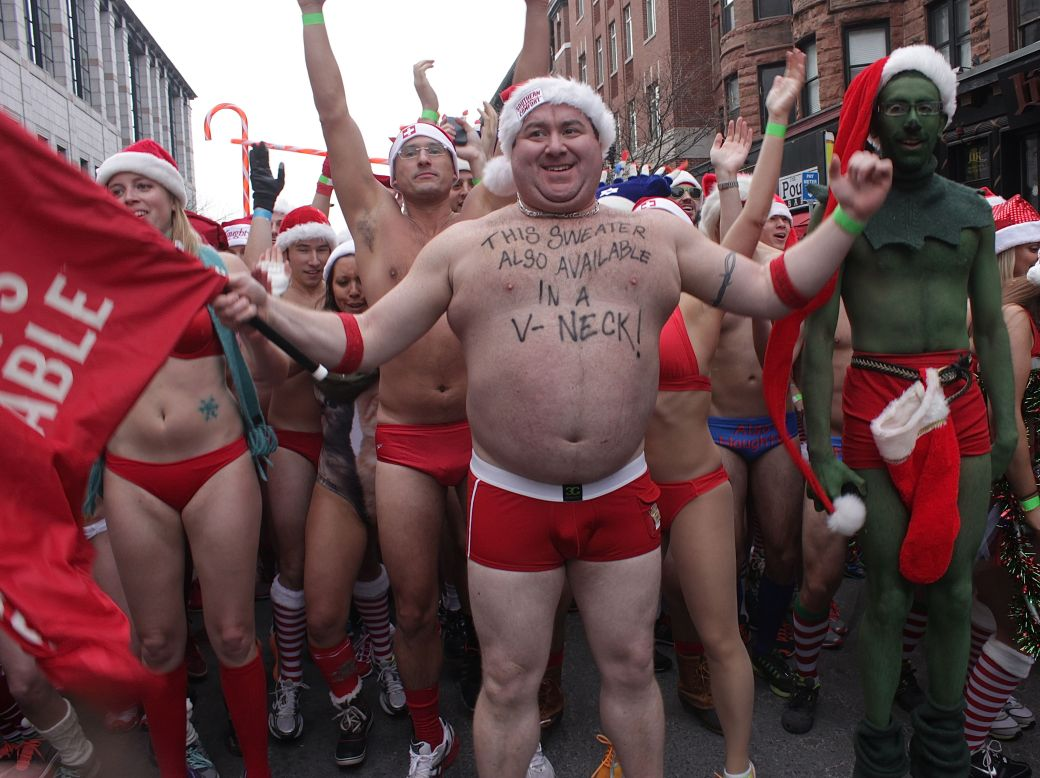 boston santa speedo run december 14 30