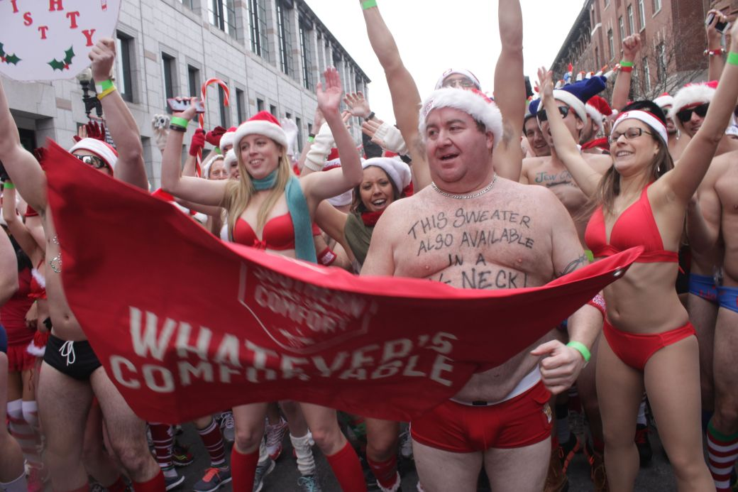 boston santa speedo run december 14 31
