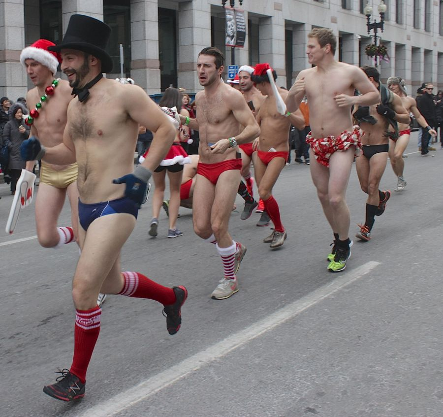 boston santa speedo run december 14 35