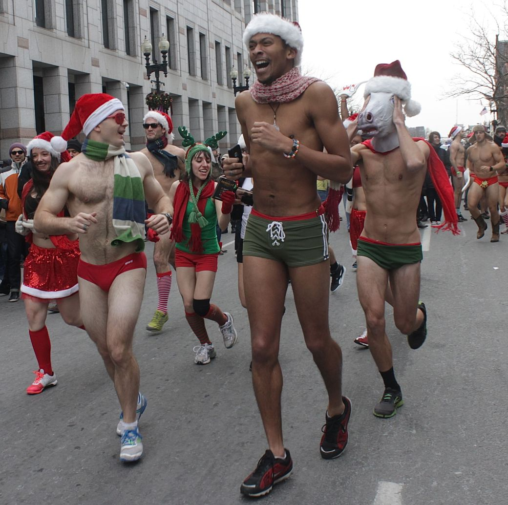 boston santa speedo run december 14 36