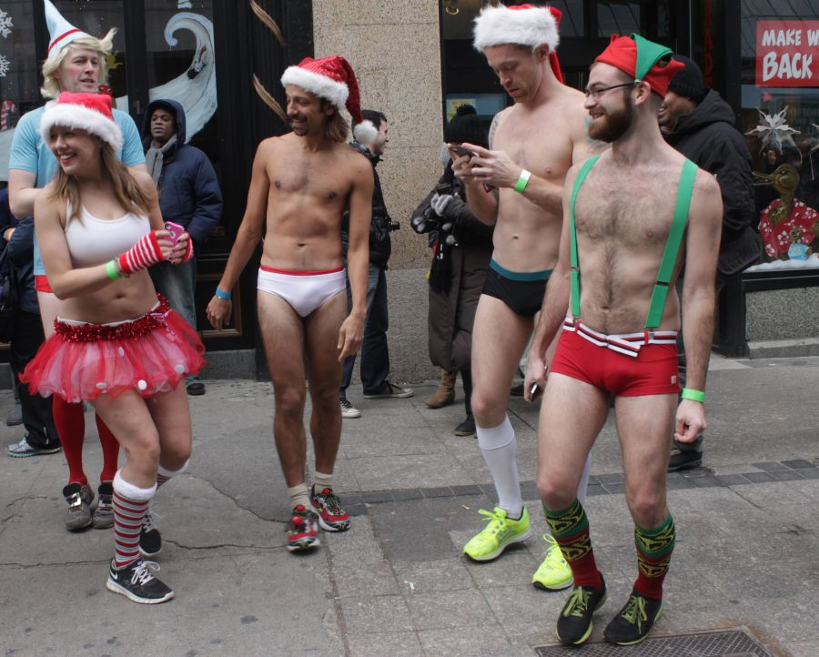 boston santa speedo run december 14 4