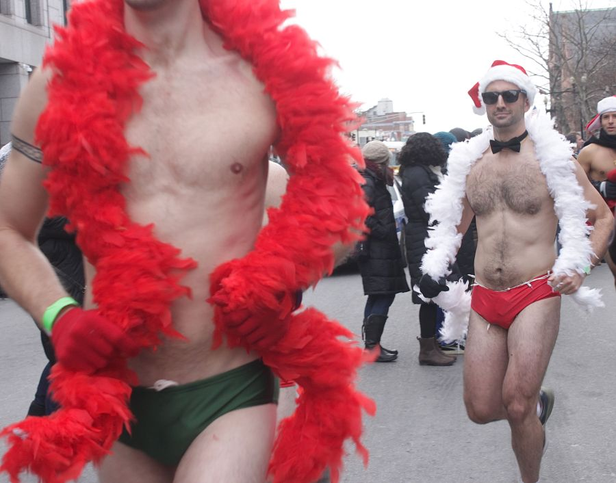 boston santa speedo run december 14 40