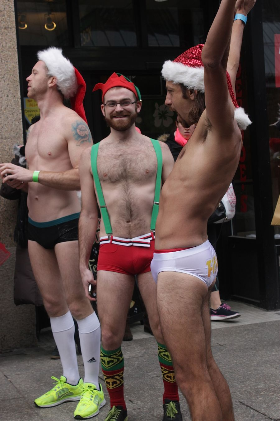 boston santa speedo run december 14 5