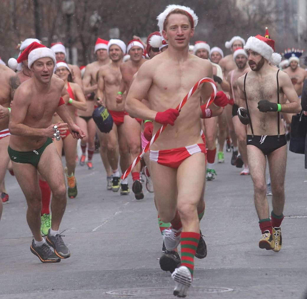 boston santa speedo run december 14 50