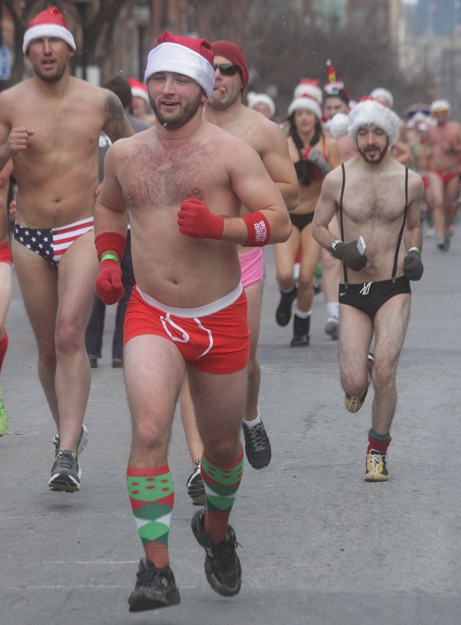 boston santa speedo run december 14 51