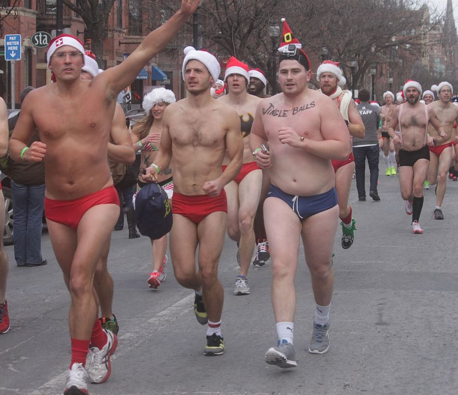 boston santa speedo run december 14 53