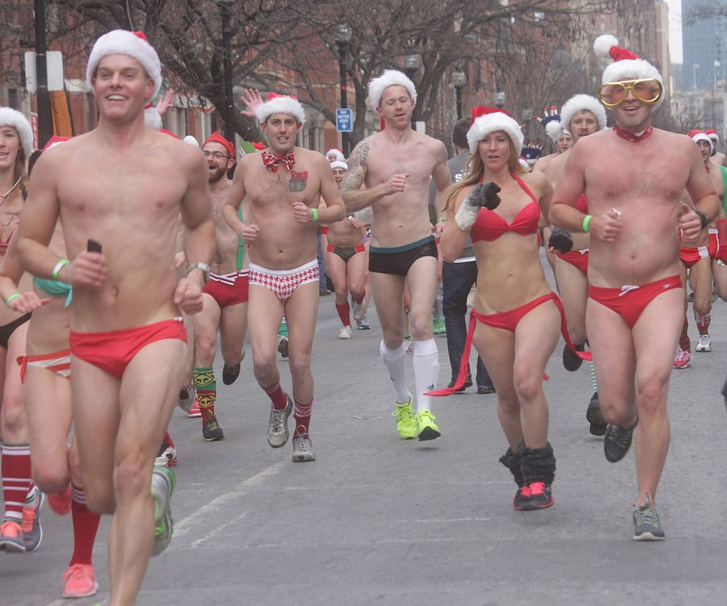 boston santa speedo run december 14 54