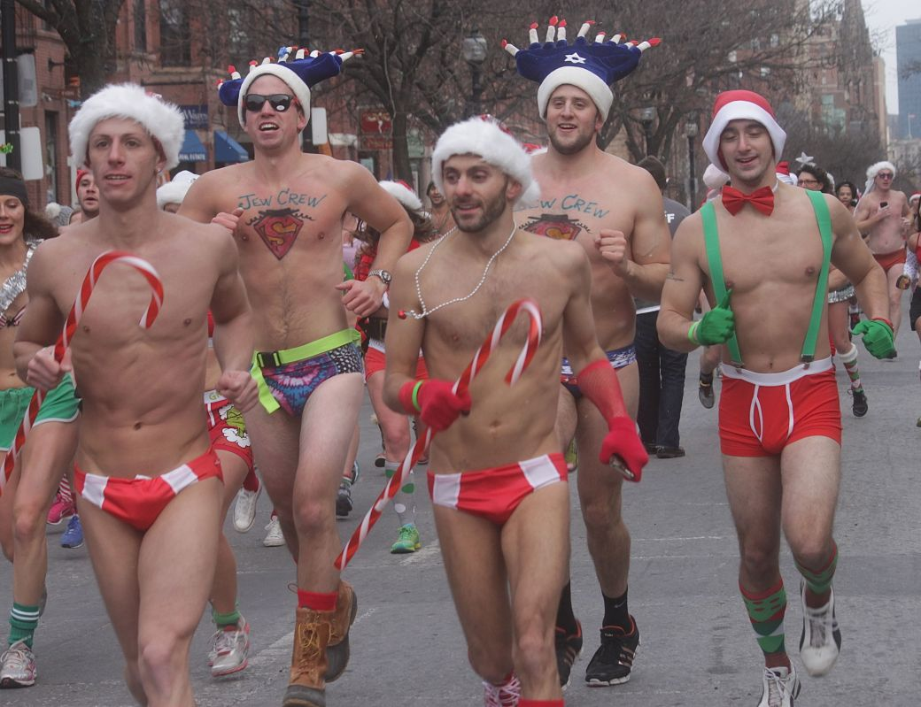 boston santa speedo run december 14 55