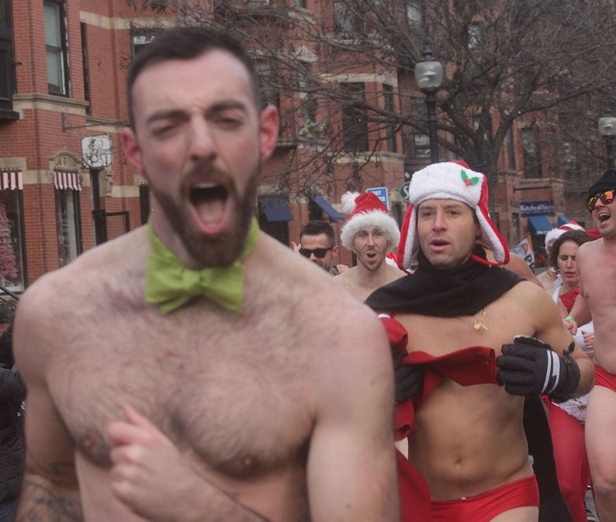 boston santa speedo run december 14 56
