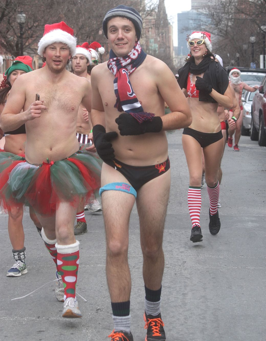 boston santa speedo run december 14 57