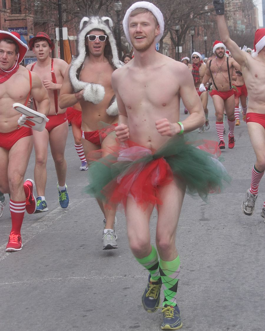 boston santa speedo run december 14 58