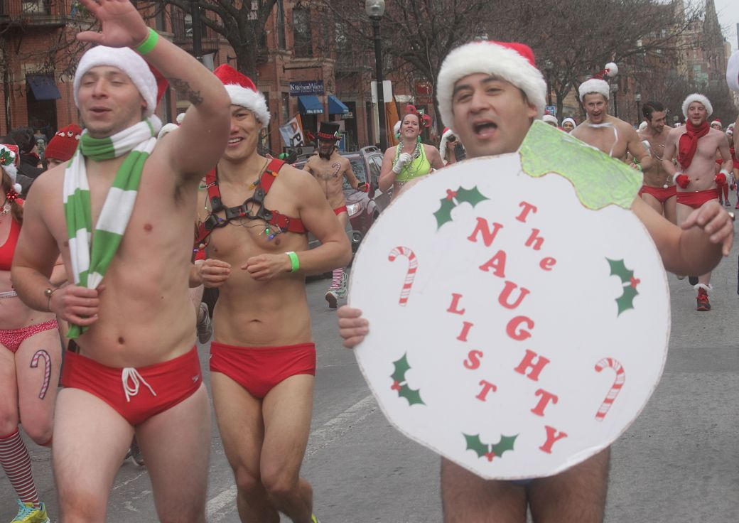 boston santa speedo run december 14 60