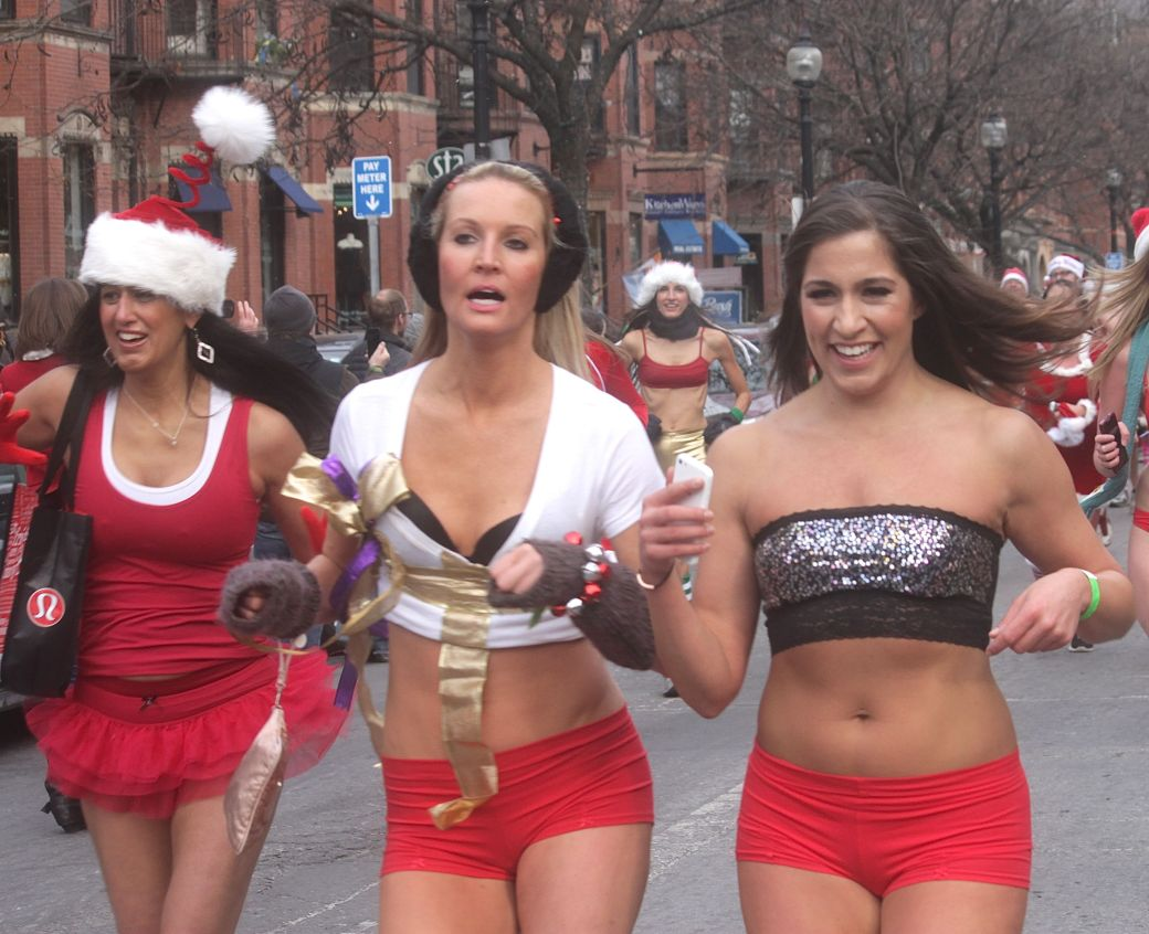 boston santa speedo run december 14 63