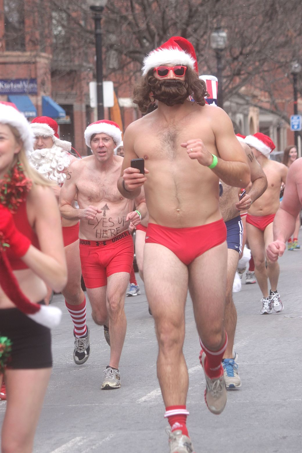 boston santa speedo run december 14 64