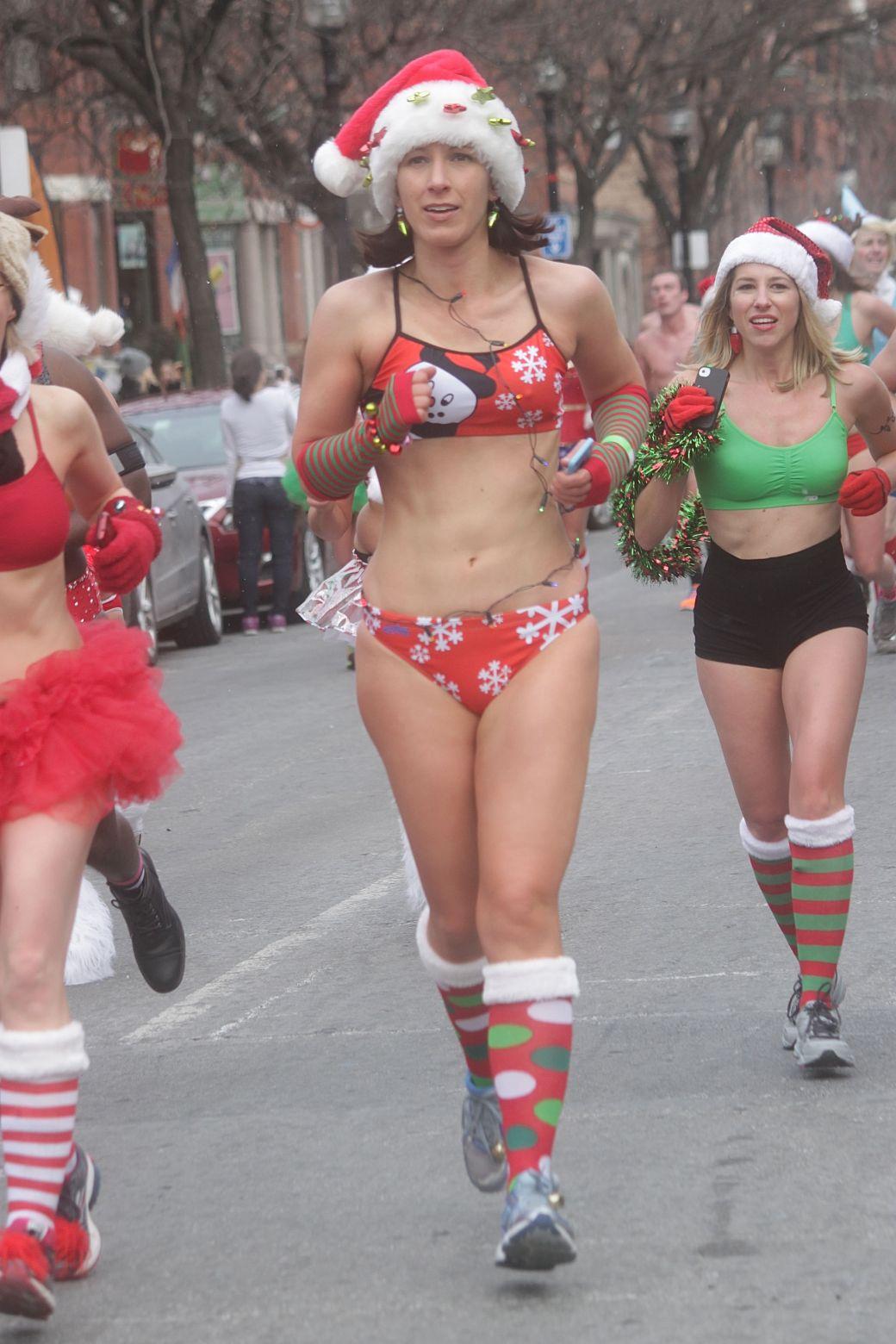 boston santa speedo run december 14 65
