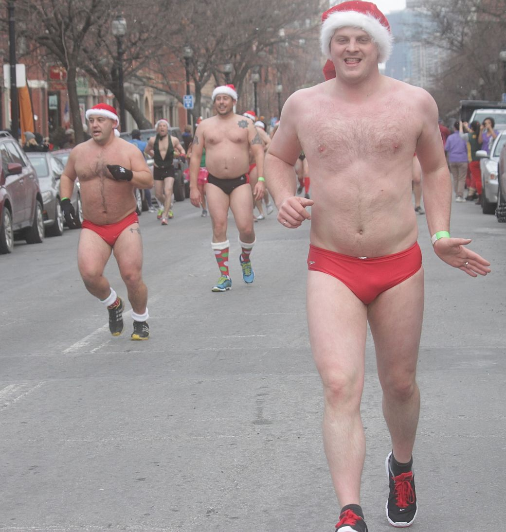 boston santa speedo run december 14 69