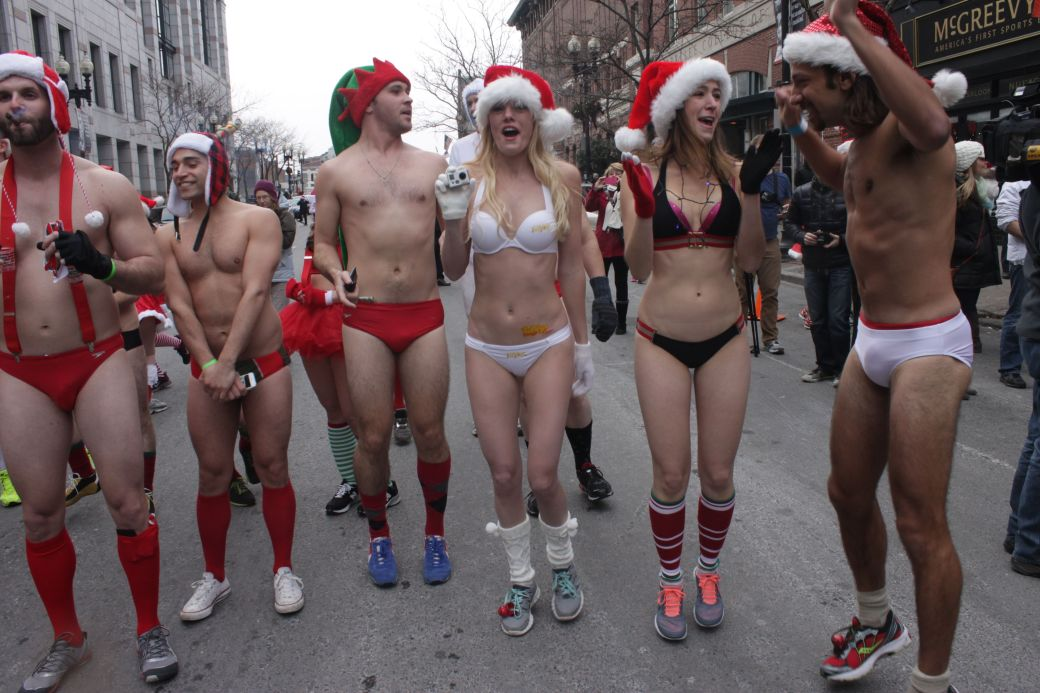boston santa speedo run december 14 7