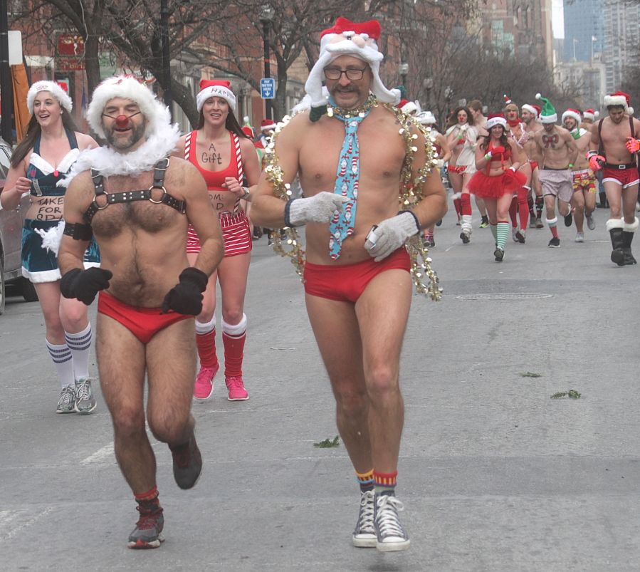 boston santa speedo run december 14 75
