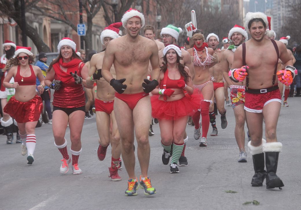 boston santa speedo run december 14 76