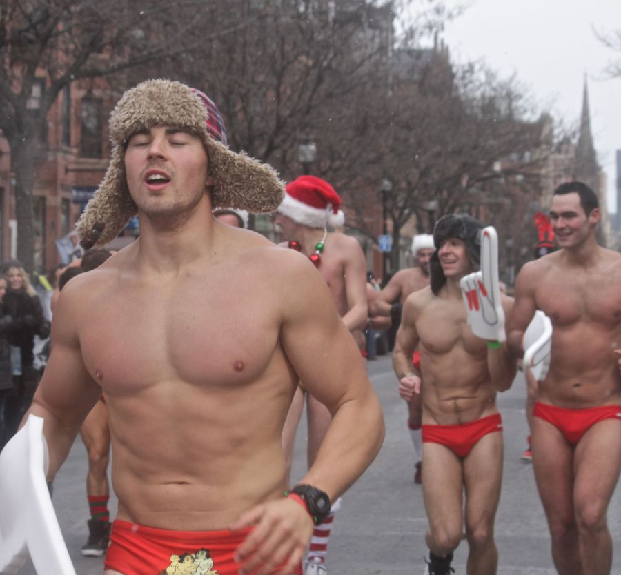 boston santa speedo run december 14 78