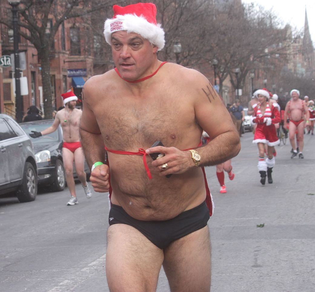 boston santa speedo run december 14 82