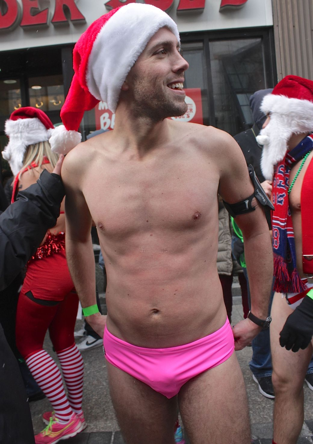 boston santa speedo run december 14 88