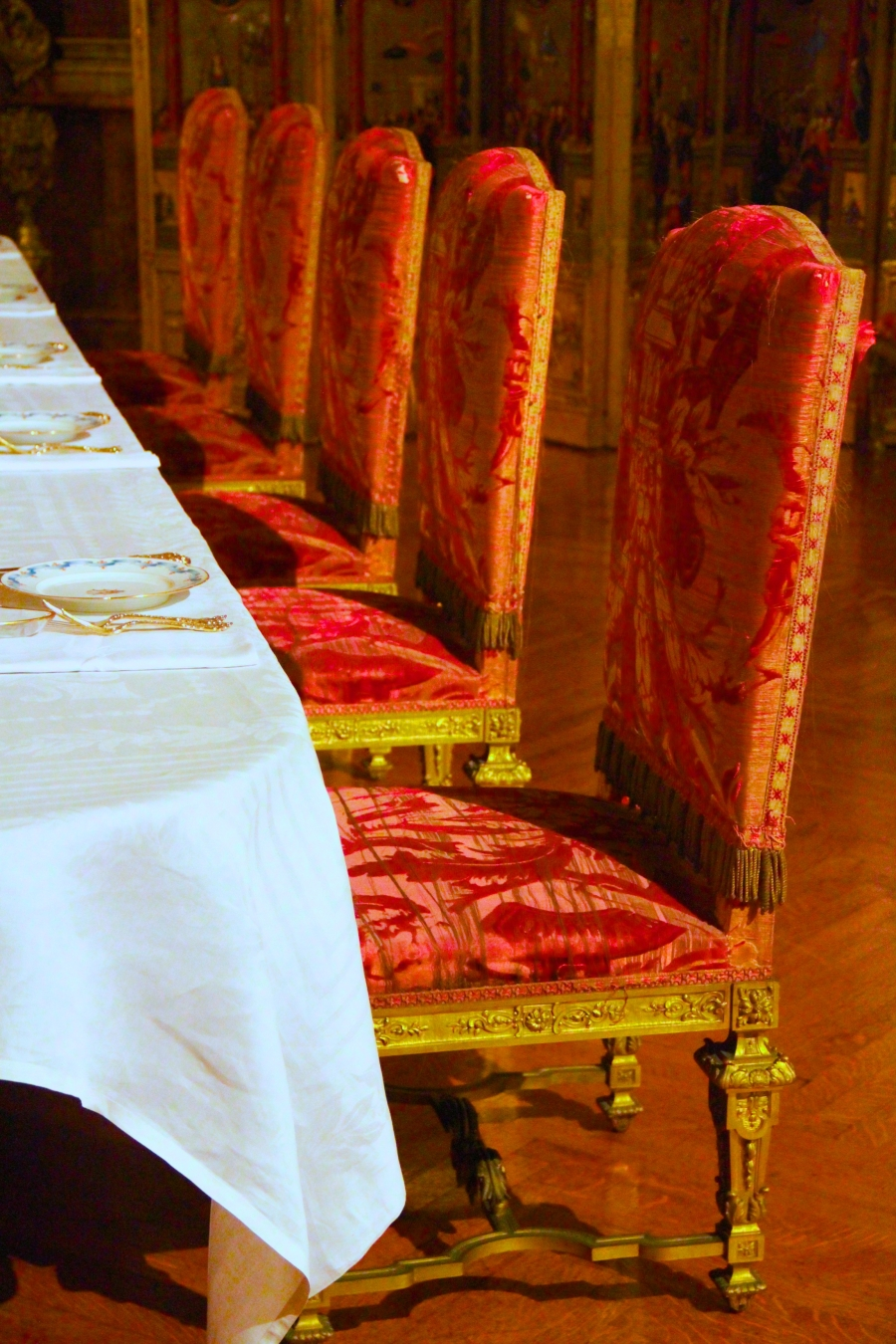 newport marble house chairs