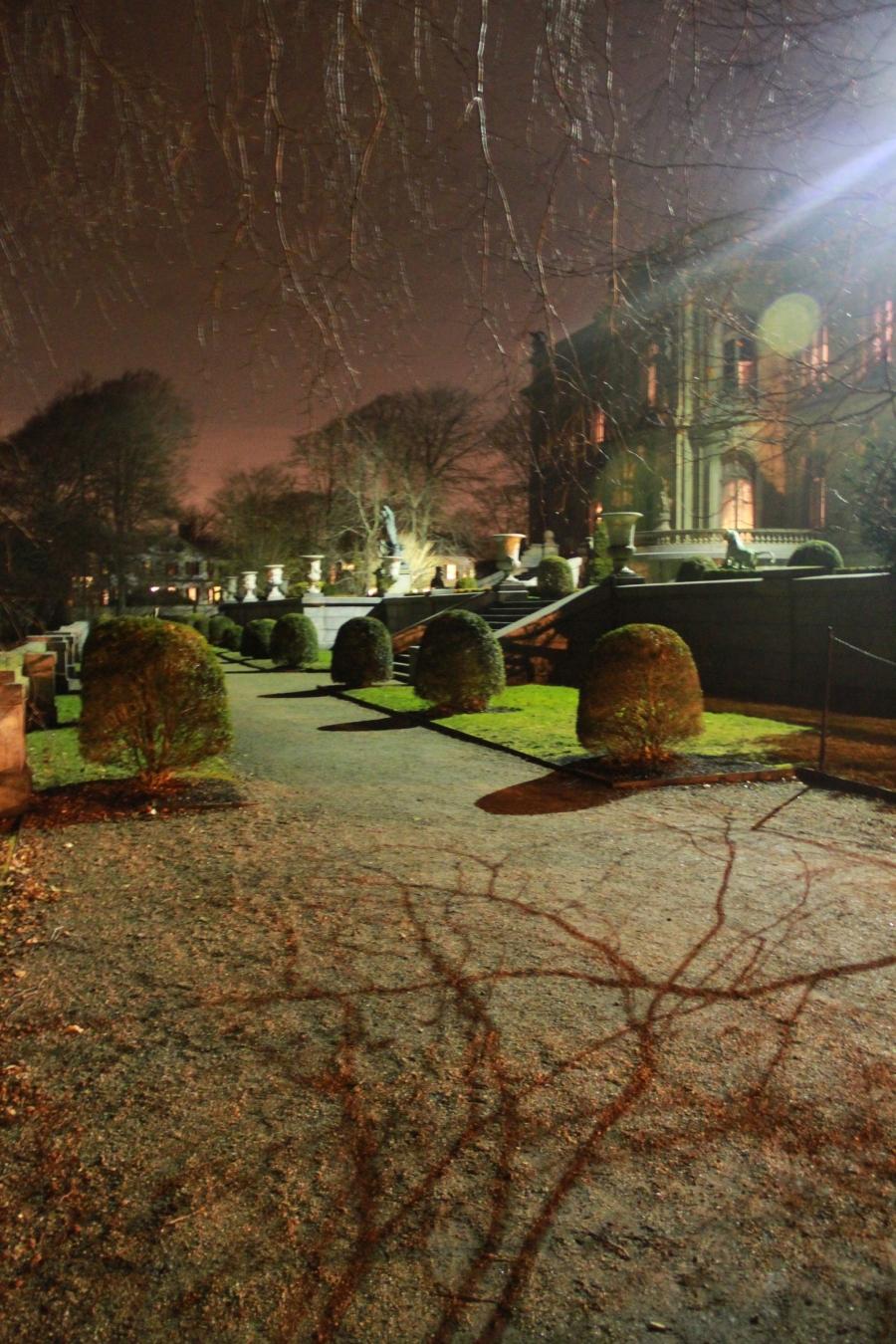 newport the elms garden night 1