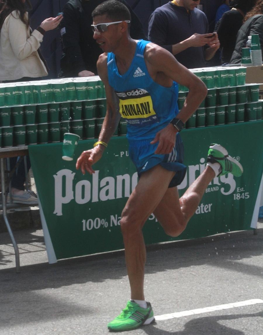 boston marathon april 21 beacon street elite runners adil annani 2