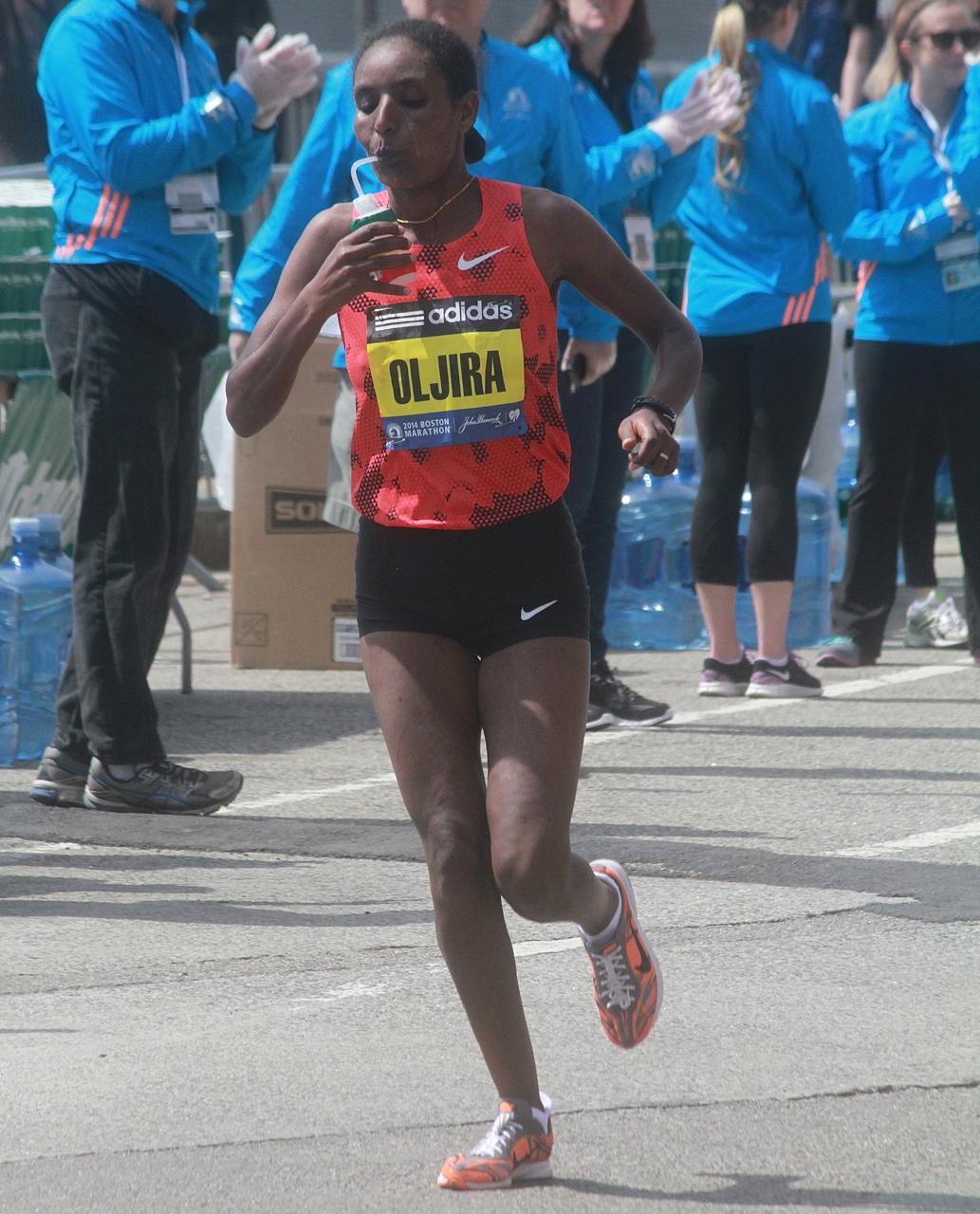 boston marathon april 21 beacon street elite runners belaynesh oljira