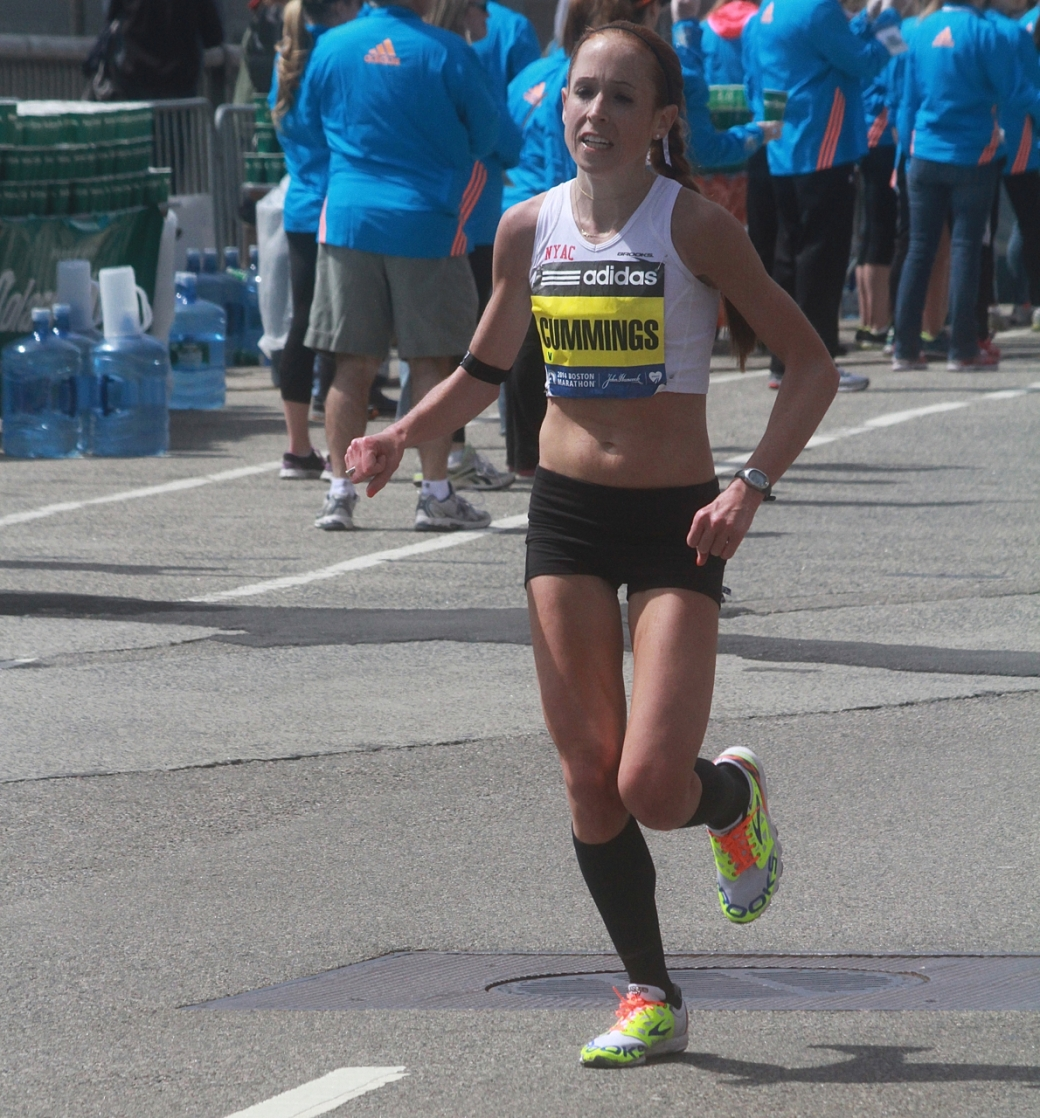 boston marathon april 21 beacon street elite runners cummings