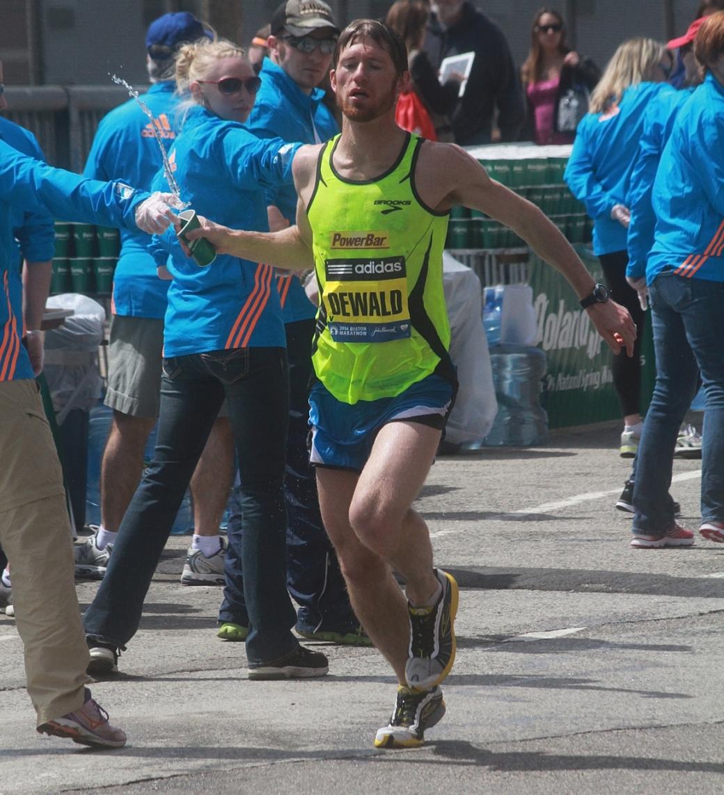 boston marathon april 21 beacon street elite runners dewald