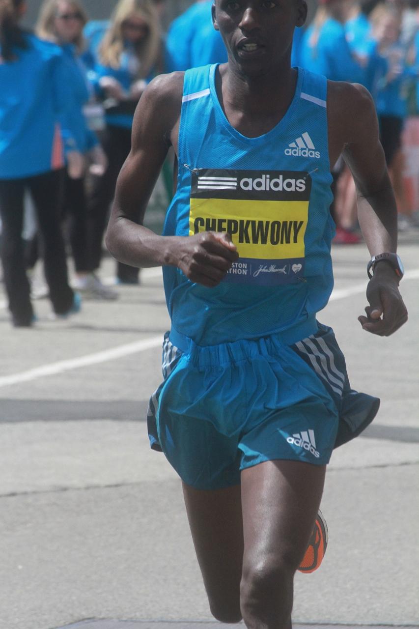 boston marathon april 21 beacon street elite runners frankline chepkwony