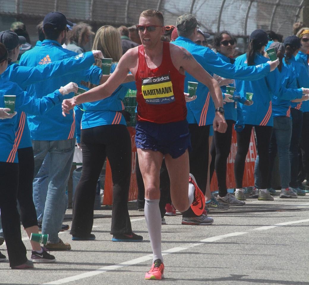 boston marathon april 21 beacon street elite runners hartmann